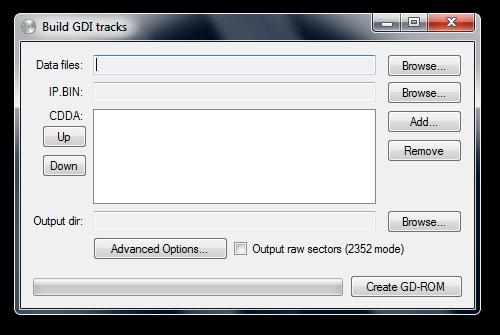GDIBuilder - Tool for building GDI data tracks | ASSEMbler